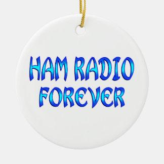 Ham Radio Forever Christmas Tree Ornaments