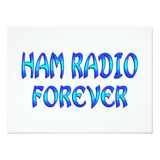 Ham Radio Forever Personalized Announcement