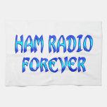 Ham Radio Forever Kitchen Towels