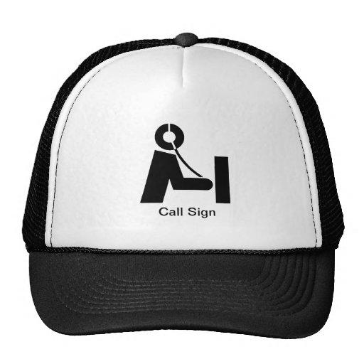 Ham Radio Icon Hat   Customize It!