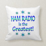 Ham Radio is the Greatest Pillows