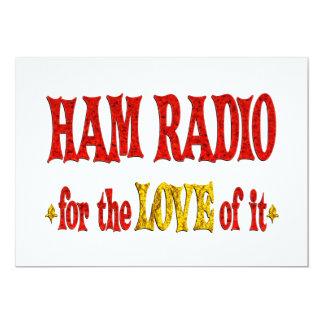 Ham Radio Love Custom Invitations