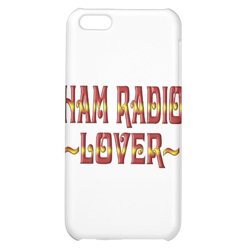 HAM RADIO LOVER COVER FOR iPhone 5C