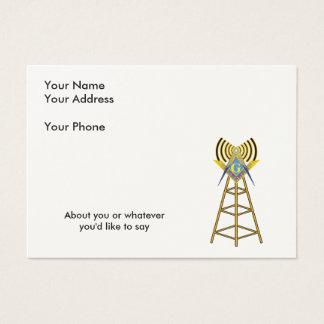 Ham Radio Mason Business Card