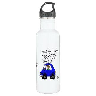 Ham Radio Mobile Rig  24 oz Water Bottle