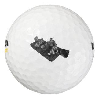 Ham Radio Morse Code Key Golf Ball