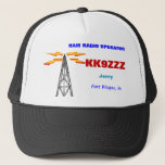 Ham Radio Operator Cap at Zazzle