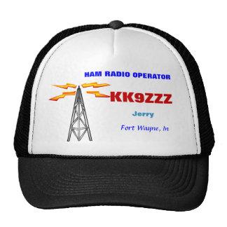 HAM RADIO OPERATOR CAP TRUCKER HAT