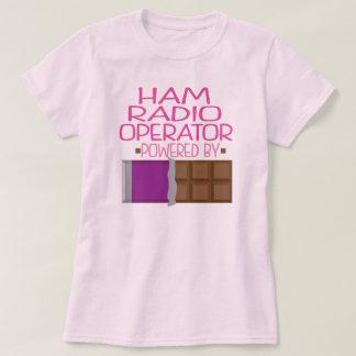 Ham Radio Operator Chocolate Gift for Her T-Shirt