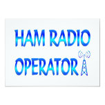 Ham Radio Operator Personalized Announcement
