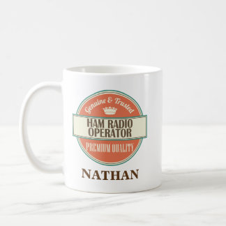 Ham Radio Operator Personalized Office Mug Gift