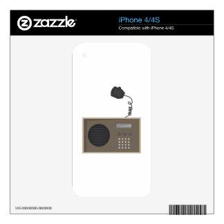 Ham Radio Skins For iPhone 4S