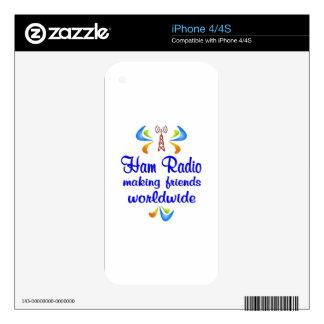 Ham Radio Worldwide iPhone 4 Skin