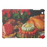 Ham, roast and turkey flowers iPad mini covers
