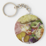 Ham Salad And Dressing Keychains