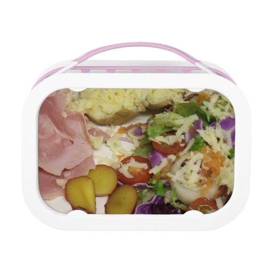 Ham Salad And Dressing Lunch Box