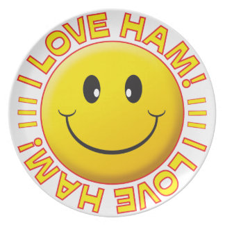 Ham Smile Party Plate