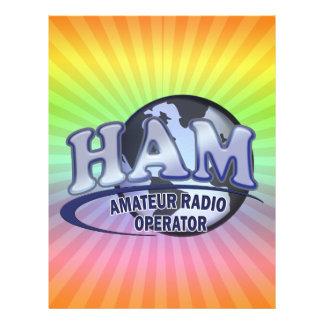 HAM WORLD LOGO Amateur Radio Letterhead