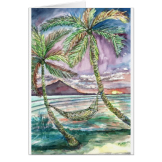 Hamaca del Caribe - aumentada Tarjetón
