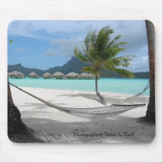 Hamaca en Bora Bora Mousepad