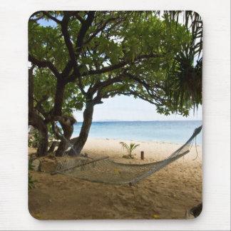 Hamaca en la isla de mar del sur, Fiji Alfombrilla De Ratón