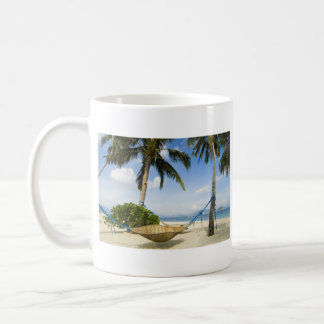 Hamaca en la taza de la playa