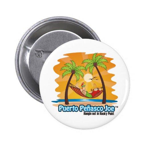 Hamaca mexicana de la playa pin