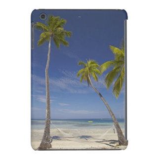 Hamaca y palmeras, centro turístico isleño de la funda para iPad mini retina