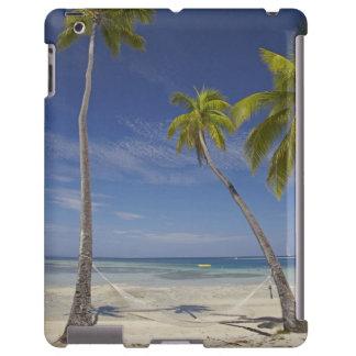 Hamaca y palmeras, centro turístico isleño de la p funda para iPad