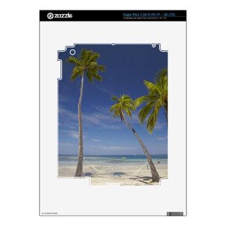 Hamaca y palmeras, centro turístico isleño de la p iPad 3 skins