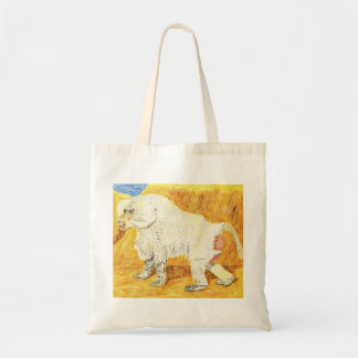 Hamadryas Baboon Tote Bag