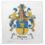 Haman Family Crest Napkin