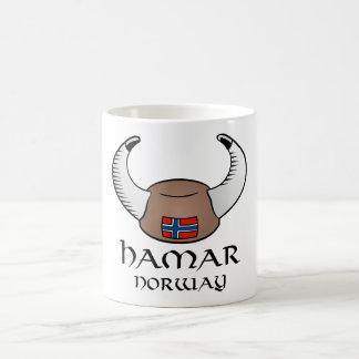 Hamar Norway Viking Hat Mug