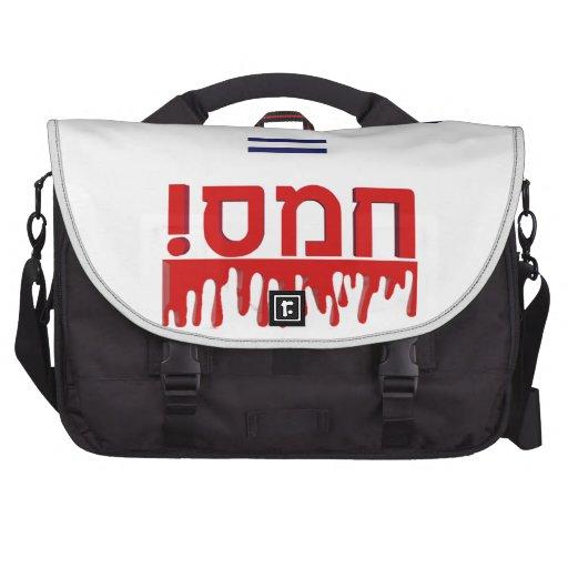 Hamas Means Violence! Laptop Computer Bag