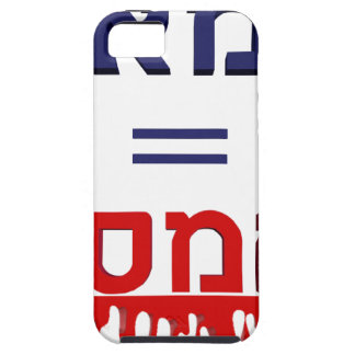 ¡Hamás significa violencia! iPhone 5 Case-Mate Funda