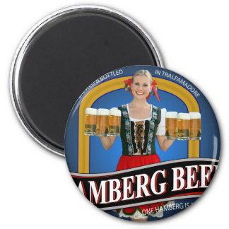 Hamberg Beer T-shirt from Raising Hope Magnet