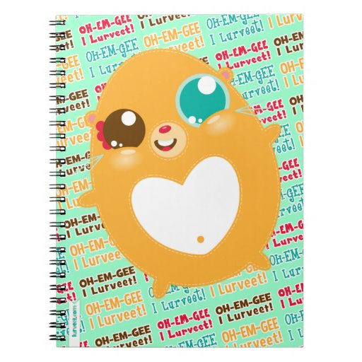 Hambiscuit Oh-Em-Gee I Lurveet - cuaderno espiral