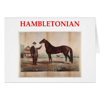 hambletonian greeting card