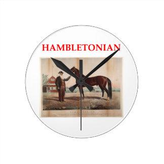 hambletonian wallclocks