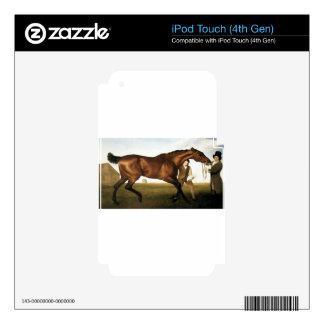Hambletonian de George Stubbs iPod Touch 4G Calcomanías