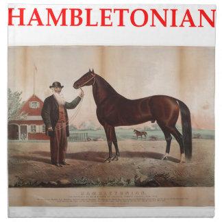 hambletonian napkin