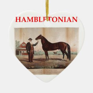 hambletonian christmas tree ornaments