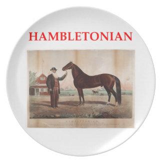 hambletonian dinner plates