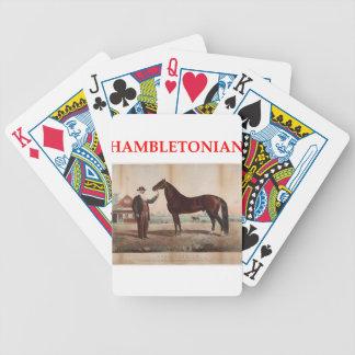 hambletonian bicycle playing cards