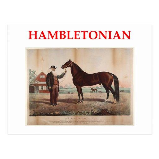 hambletonian postales