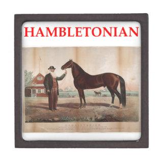 hambletonian premium trinket box