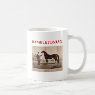 hambletonian taza básica blanca