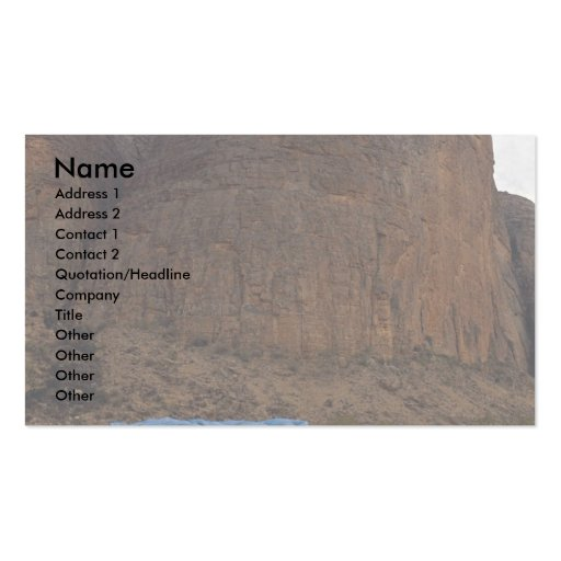 Hambori Mountains, Mali Double-Sided Standard Business Cards (Pack Of 100)