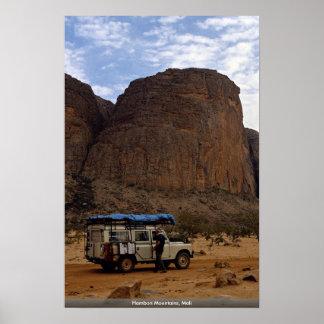 Hambori Mountains, Mali Poster