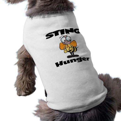 Hambre de STING Ropa De Mascota